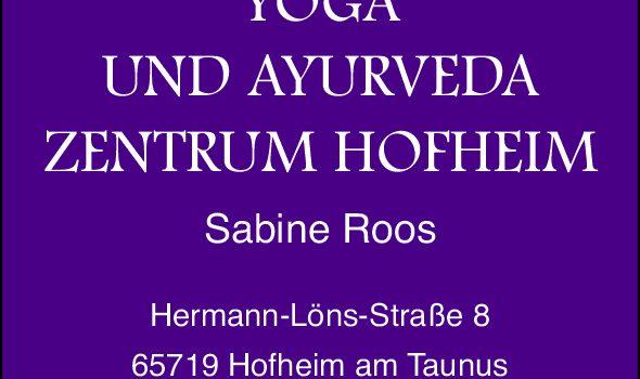 Yoga und Ayurvedazentrum Hofheim
